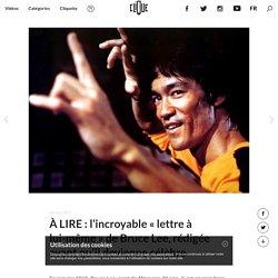 """À LIRE : l'incroyable """"lettre à lui-même"""" de Bruce Lee, rédigée avant qu'il devienne célèbre"""