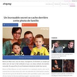 Un incroyable secret se cache derrière cette photo de famille