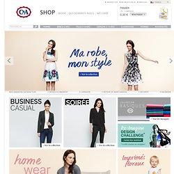 C&A Online Shop ! La mode pour femme, homme, enfant, bébé à petits prix.