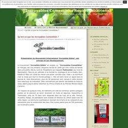 Qu'est-ce que les Incroyables Comestibles ? · Incroyables Comestibles Region Nazairienne