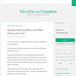Principes des Incroyables Comestibles d'Aix-en-Provence – Pays d'Aix en Transition