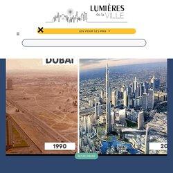 Les incroyables évolutions paysagères de 17 grandes villes dans le monde