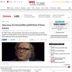 1964-2014: les incroyables prédictions d'Isaac Asimov