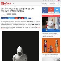 Les incroyables sculptures de marbre d'Alex Seton