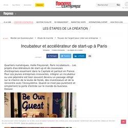 Incubateur et accélérateur de start-up à Paris