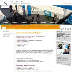 Incubateur Paris, incubateur ingenieur, entreprendre projet, Centrale Paris
