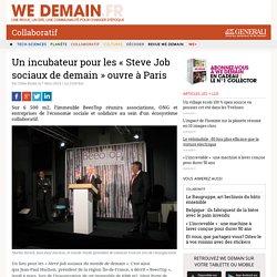 Un incubateur pour les « Steve Job sociaux de demain » ouvre à Paris