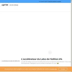 Paris&Co Incubateurs - L'accélérateur du Labo de l'édition #4