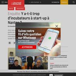 Y a-t-il trop d'incubateurs à start-up à Nantes? - Le Journal des Entreprises - Loire-Atlantique - Vendée