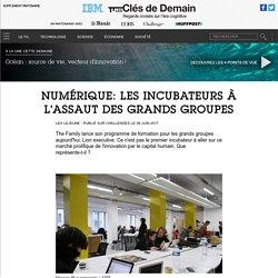 Numérique: les incubateurs à l'assaut des grands groupes - Contenu Partenaire Media