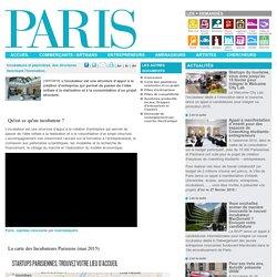 Incubateurs et pépinières, des structures favorisant l'innovation. - Paris.fr