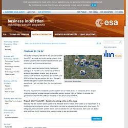 ESA Business Incubation bliin BV