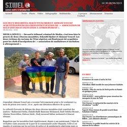 Les deux mozabites, Sekoutti Djaber et Ahmani Youcef acquittées pour les chefs d'inculpation de : « association de malfaiteurs et incitation à attroupement ».