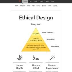 — Ethical Design Manifesto