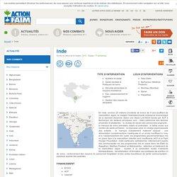 Action contre la Faim - Inde