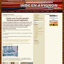 Inde en Avignon