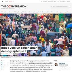 Inde : vers un cauchemar démographique?