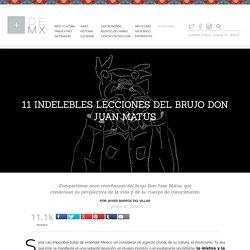 11 indelebles lecciones del brujo Don Juan Matus - Más de México