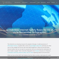 10 Indelible Internet Safety Rules for All of Us to Remember