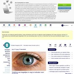 'Indeling van kegeltjes in oog is indicator voor dyslexie'