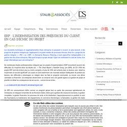 ERP : L'INDEMNISATION DES PRÉJUDICES DU CLIENT EN CAS D'ÉCHEC DU PROJET