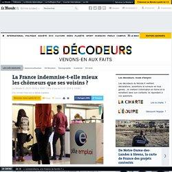 La France indemnise-t-elle mieux les chômeurs que ses voisins?
