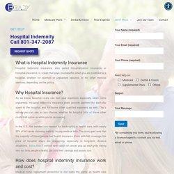 Hospital Indemnity Health Insurance Plans- Brady Insurance Marketing
