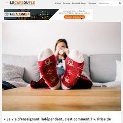 """""""La vie d'enseignant indépendant, c'est comment ?"""". Prise de notes collaborative lors de la soirée pyjama du FLE - Le Café du FLE"""