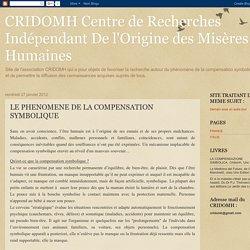 LE PHENOMENE DE LA COMPENSATION SYMBOLIQUE