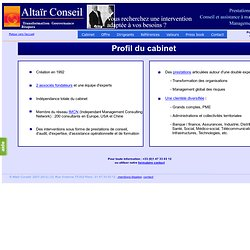Altaïr Conseil