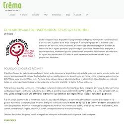 Devenir traducteur indépendant en auto-entreprise - Trëma Translations - English to French translation