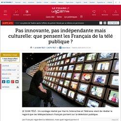 Pas innovante, pas indépendante mais culturelle: que pensent les Français de la télé publique ?