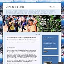 Les militants vénézuéliens d'ONG indépendantes des droits humains répondent aux médias internationaux