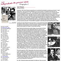Les indépendants du 1er siècle - Biographie de Jean Painlevé