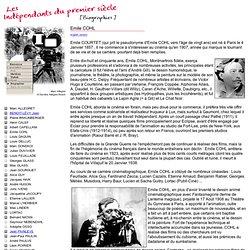 Les indépendants du 1er siècle - Biographie de Emile COHL