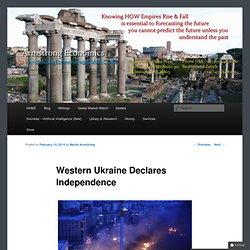 Western Ukraine Declares Independence
