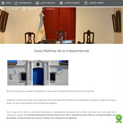 Casa Histórica de la Independencia - Ente Autárquico Tucumán Turismo