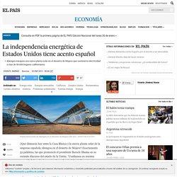 La independencia energética de Estados Unidos tiene acento español