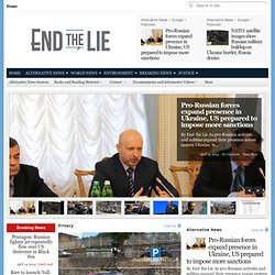 End the Lie - Independent News | Alternative News Daily