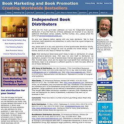Top Independent Book Distributors