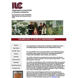 ILCSC - Independent Living Center of Southern California, Inc. - Home