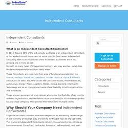 Independent Consultants – IndusGuru Resources