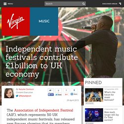 Independent music festivals contribute £1billion to UK economy