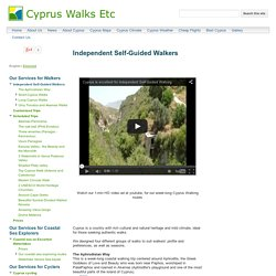 Independent Self-Guided Walkers - Cyprus Walks Etc