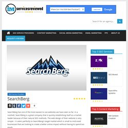 SearchBerg Reviews - Independent Review of SearchBerg