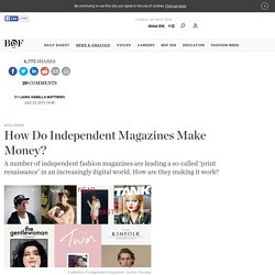 How Do Independent Magazines Make Money?