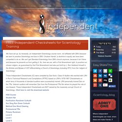 Independent Checksheets