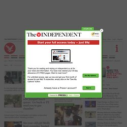 The Independent | News | Latest UK News | UK Newspaper