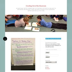Weaving Inquiry Into Independent Reading: Using Student-Written Reading Goals to Develop Metacognition AND A Love of Reading
