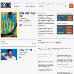 Soho Press is an independent book publisher located in New York City.
